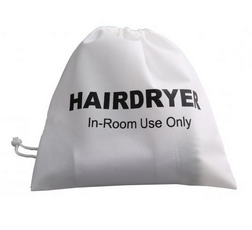HAIR DRYER POUCH--NON WOVEN ----not alteo.--WHITE