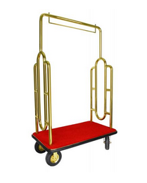 LUGGAGE CART----GOLD--2----PIC