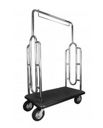 LUGGAGE CART----SILVER--2----PIC