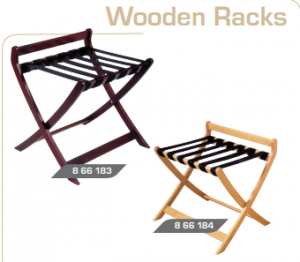 Luggage rack-wooden
