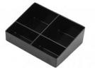 ZENLINE---sachet tray.----BLACK