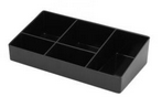 ZENLINE---sachet tray.----LARGE.---BLACK
