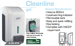 soap dispenser cleanline