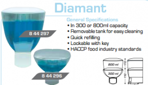 soap dispenser diamant