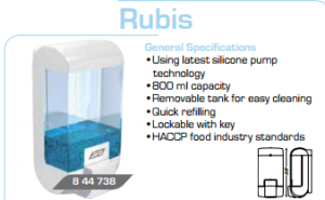 soap dispenser rubis