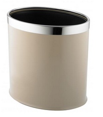 DOUBLE LAYER----OVAL BINS----PIC---BEIGE
