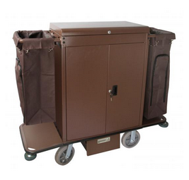 HOUSE KEEP --CART----DRAWERS---PIC---2----BROWN