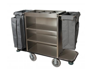 HOUSE KEEP --CART----STAINLESS---PIC