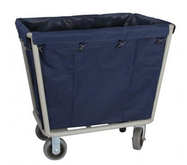 LINEN TROLLEY---BLUE--PIC