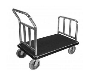 LUGGAGE CART----SILVER---PIC