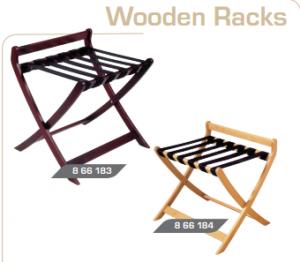 Luggage rack-wooden